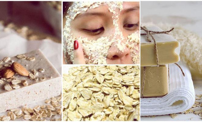 Jabones de avena para eliminar la grasita de tu cara