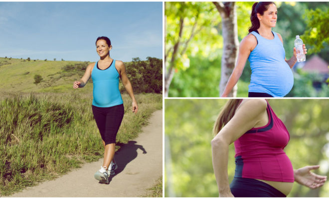 Caminar durante el embarazo es una necesidad