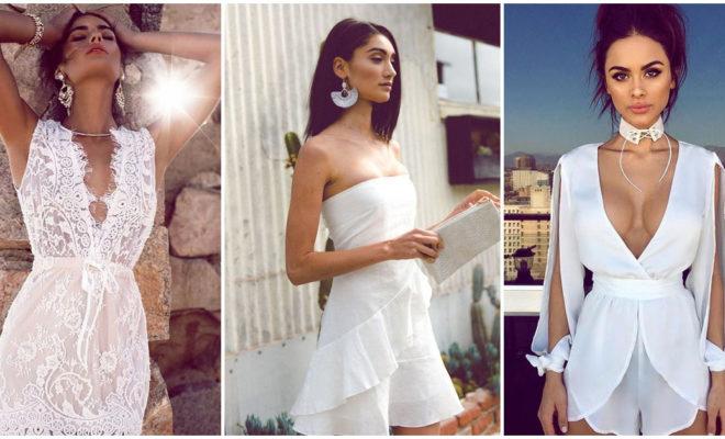 Cómo, cuándo y dónde llevar un vestido blanco