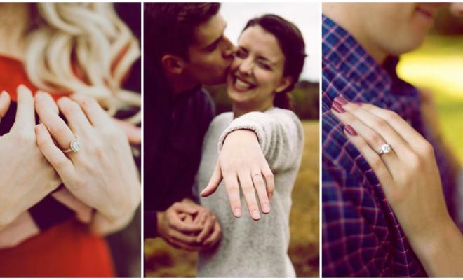 Las mejores fotos para lucir tu anillo de compromiso