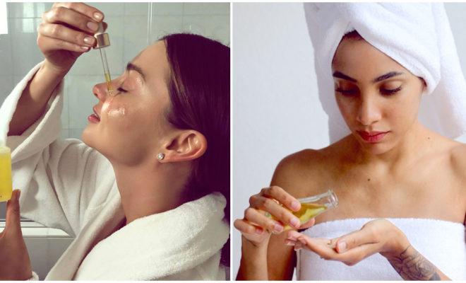 Ventajas de usar aceites faciales antes de dormir