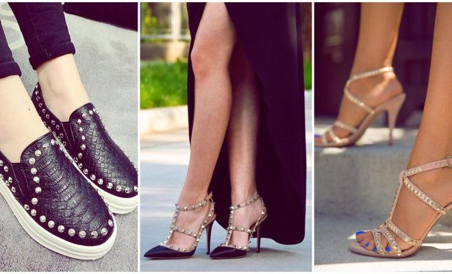 Zapatos con estoperoles; ¡los amarás!