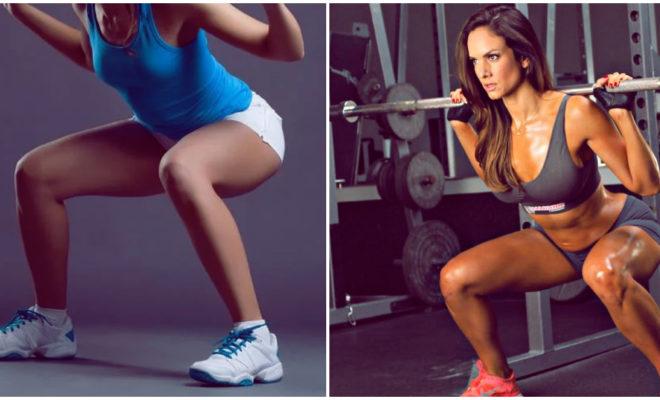 Tipos de squat que tienes que practicar para fortalecer piernas y glúteos