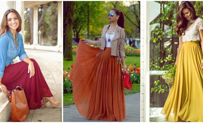 Como usar una falda larga según tu edad para no lucir anticuada