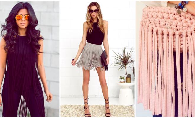 Guía para llevar flecos en tu outfit de manera original