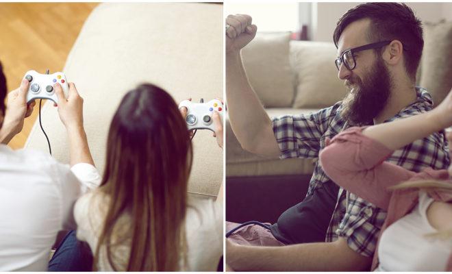 Así se siente jugar videojuegos con tu novio