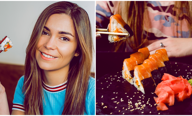 Por esta razón no debes comer sushi durante el embarazo