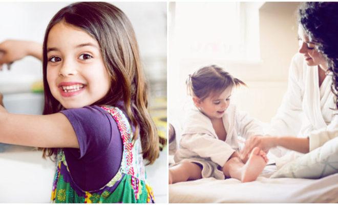 Hábitos de higiene que tu hijo debe realizar solito a los 7 años