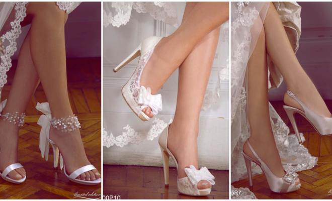 Los tacones más fashion para las futuras novias