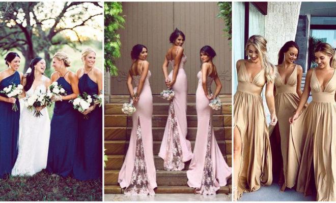 Estos son algunos hermosos colores para los vestidos de tus damas