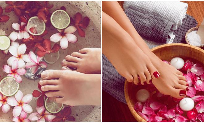DIY exfoliante para suavizar la piel de tus pies