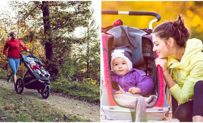 Mamá runner, así es como debes correr con tu bebé en su carriola