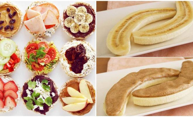 Snacks ricos y saludables que te sacarán de apuros