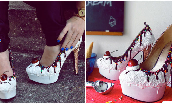 Querrás comerte estos zapatos por su apariencia