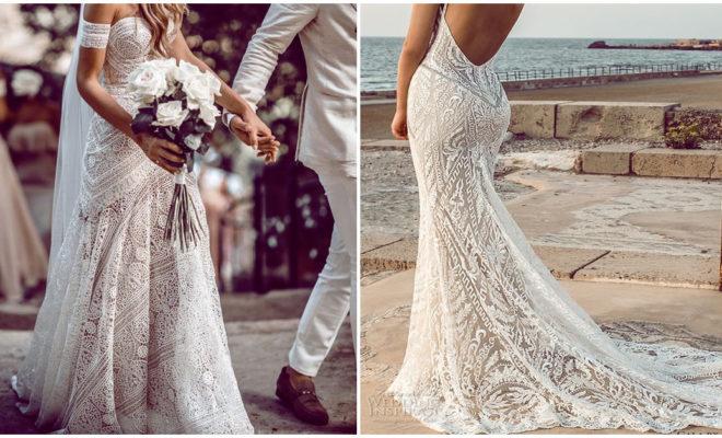 Increíbles vestidos playeros para tu boda