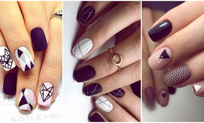 Luce tu próxima manicura con un clásico: el black & white