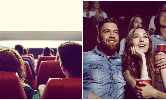 Tener una primera cita en el cine no es la mejor idea, ¡comprobado!