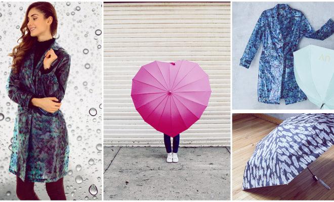 Cómo darle la vuelta a los días lluviosos sin perder el estilo