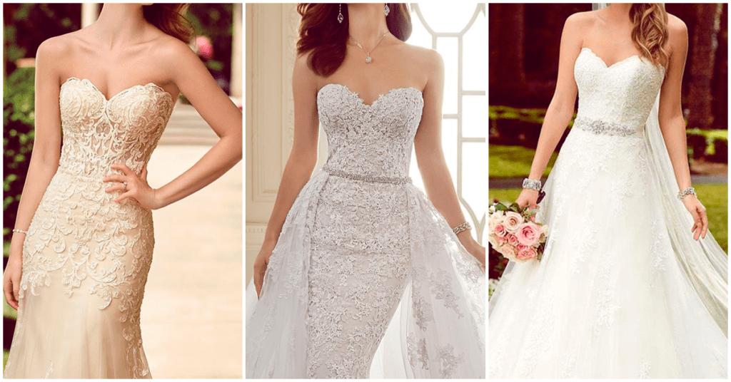 Vestidos de novia atemporales que amarás