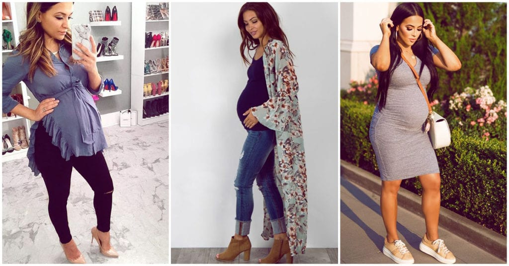 Con estos tips de estilo te verás increíble embarazada