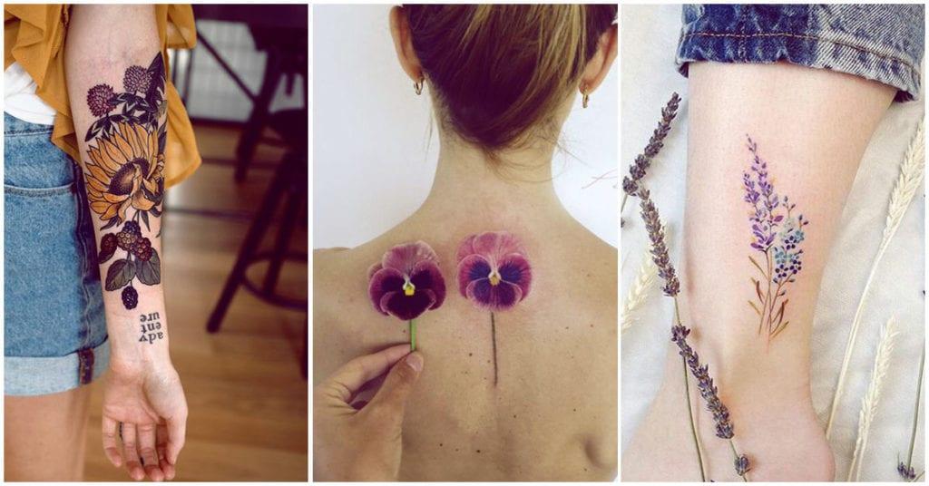 Conoce el significado de 7 tatuajes de flores