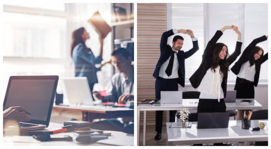Despídete del estrés en la oficina con esta rutina