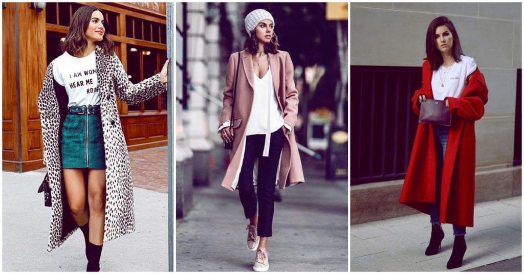 Abrigos largos que le van a tus outfits de otoño