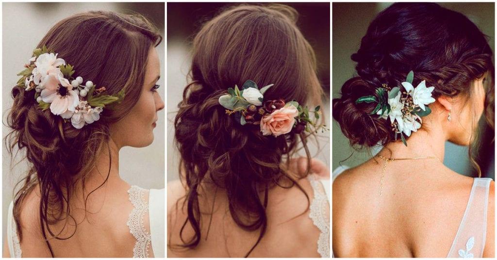 Chongo con flores el día de tu boda: ¿sí o no?