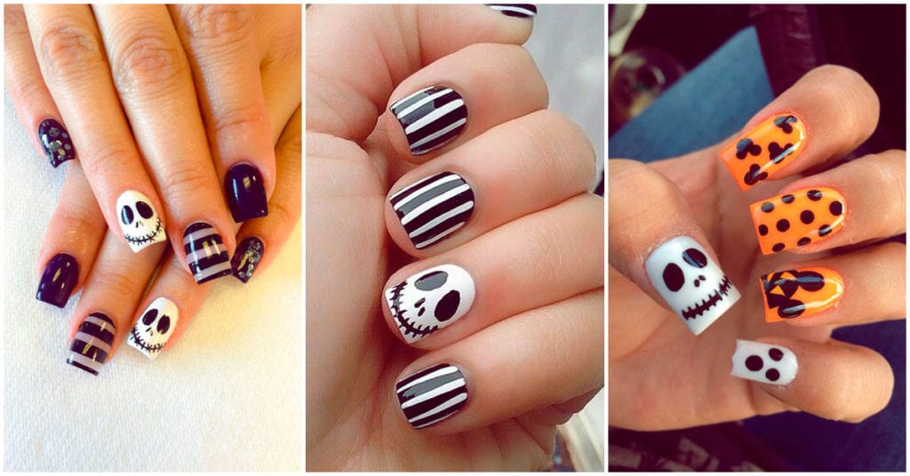 Diseños de uñas que puedes usar este Halloween
