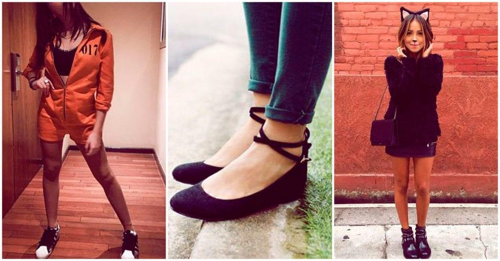 Zapatos cómodos para combinar con tu disfraz de Halloween