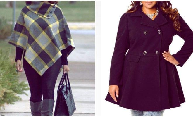 Abrigos o capas, ¿qué les favorece más a las chicas curvy?