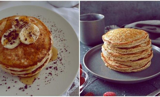 Estos hot cakes fit son mi desayuno favorito, aquí te digo por qué