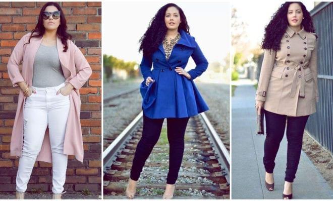 Errores que las chicas curvy cometen al elegir un abrigo