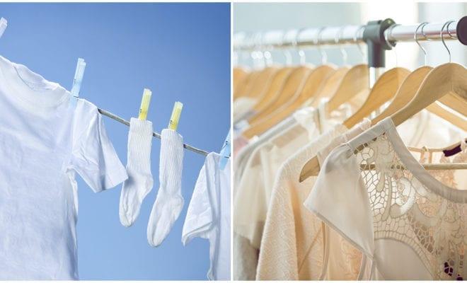 Cómo cuidar tu ropa blanca para que no se ponga amarillenta