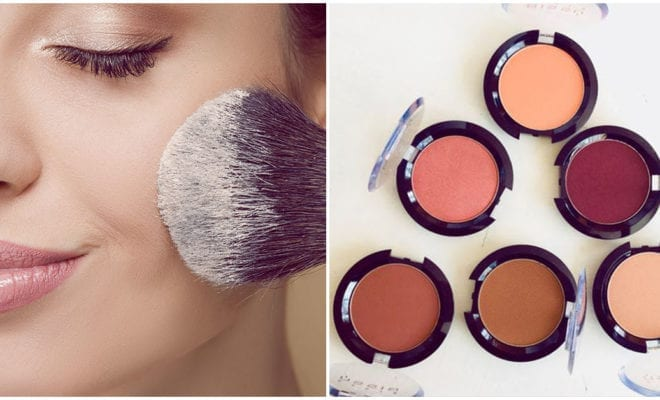 Cómo aplicar el blush de acuerdo a tu tipo de cara