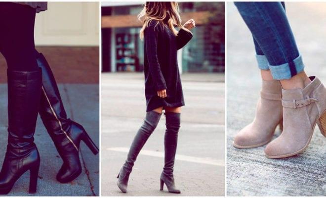 Las botas y botines que debes elegir si quieres estilizar tus pantorrillas