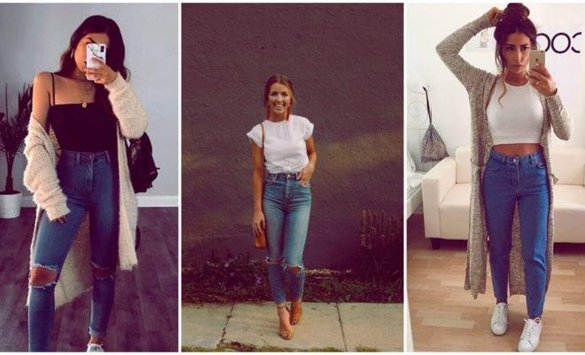Formas de combinar tus jeans a tus veinte