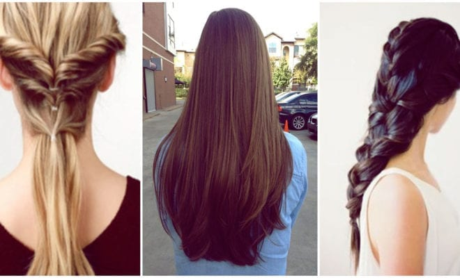 Peinados que deberías intentar si tu cabello es largo