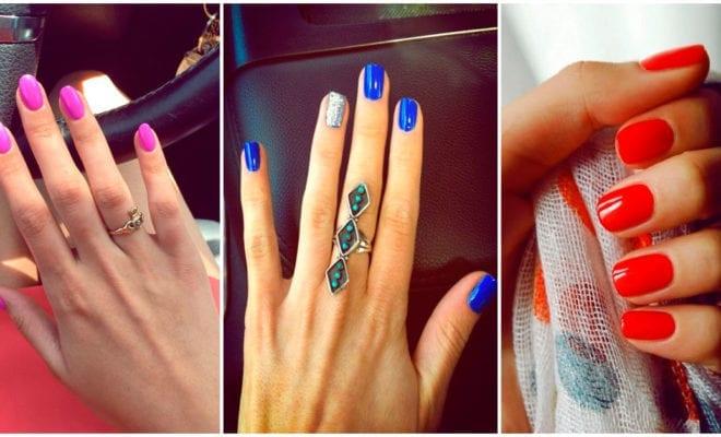 Colores brillantes para uñas que le van a las chicas de piel blanca