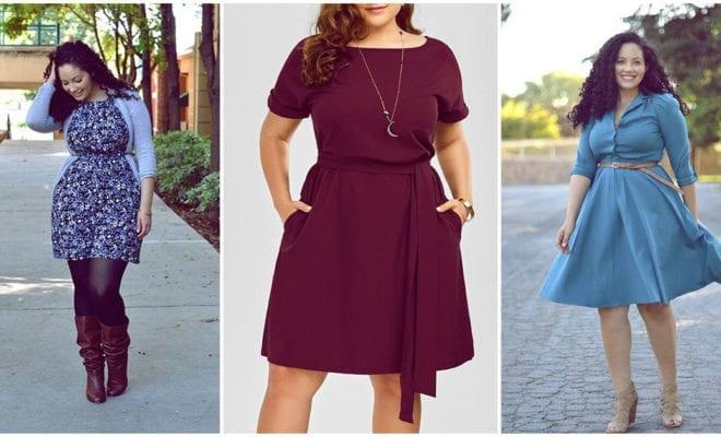 Accesorios que una chica curvy puede usar con vestido