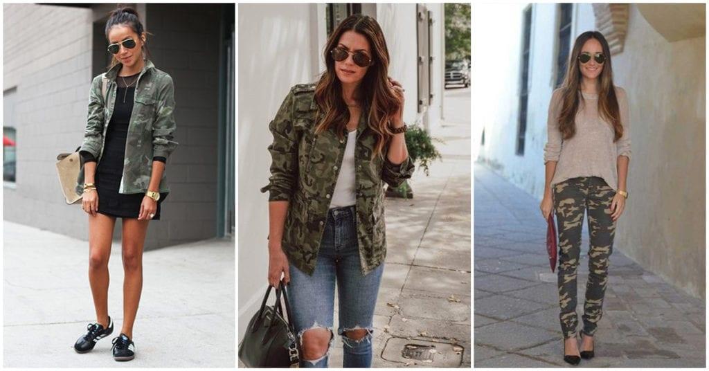 Cómo combinar prendas militares para crear un outfit casual