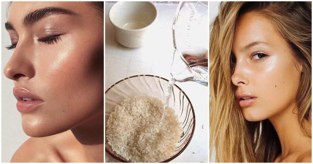 Agua de arroz, el paraíso para tu piel