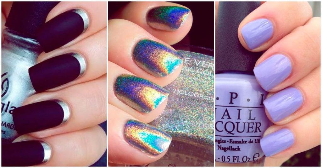 Estos colores de uñas son ideales para chicas de piel pálida