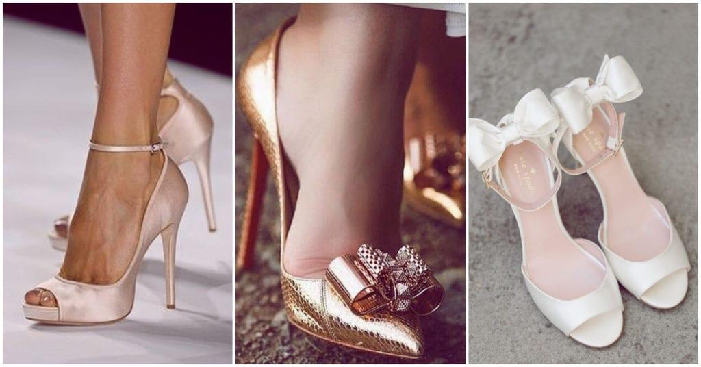 Dime qué zapatillas de novia usarías y te digo algo de ti