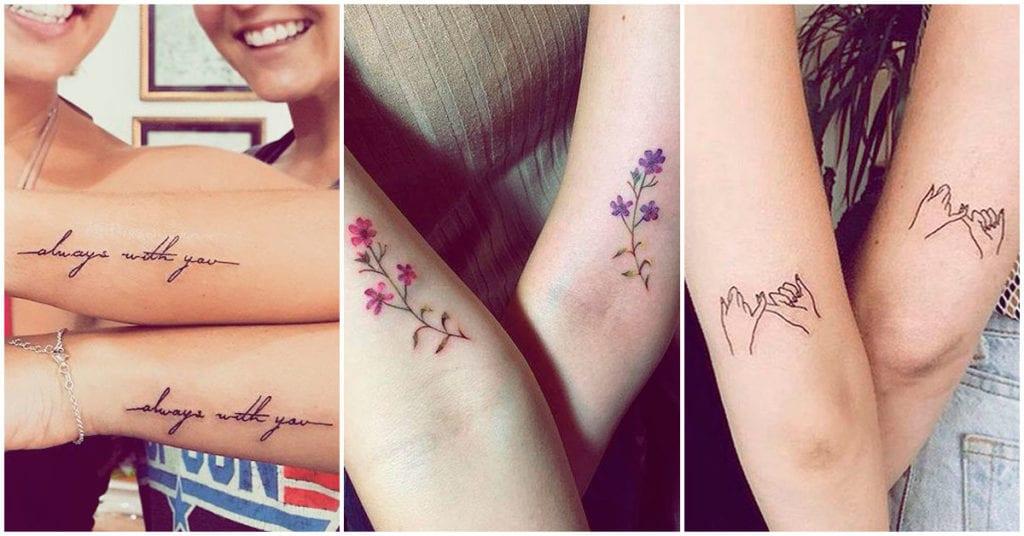 Tatuajes que puedes hacerte con tu mejor amiga