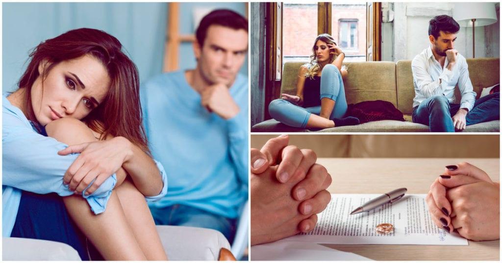Señales de que tu matrimonio se está acabando