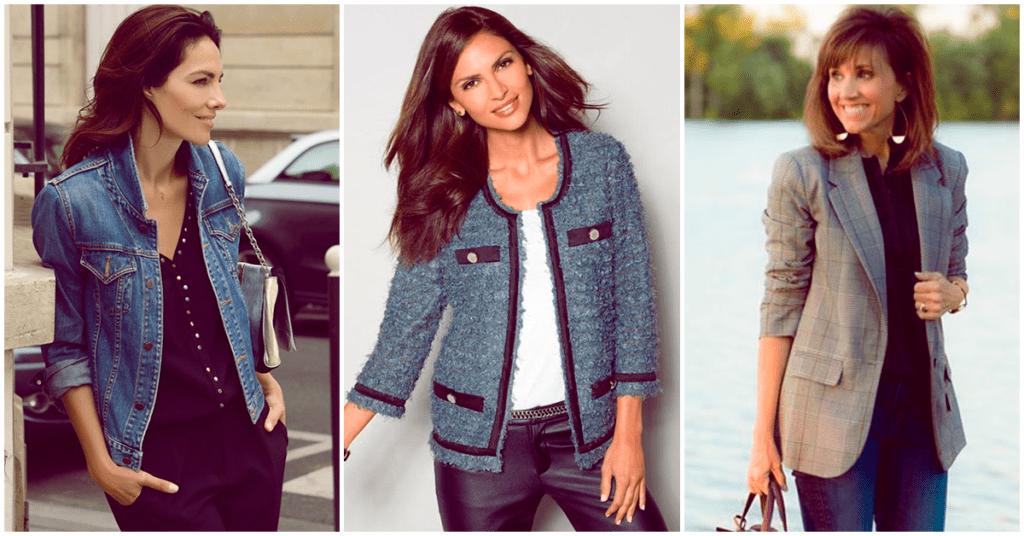 Cómo combinar tu blazer o chamarra para no lucir pasada de moda