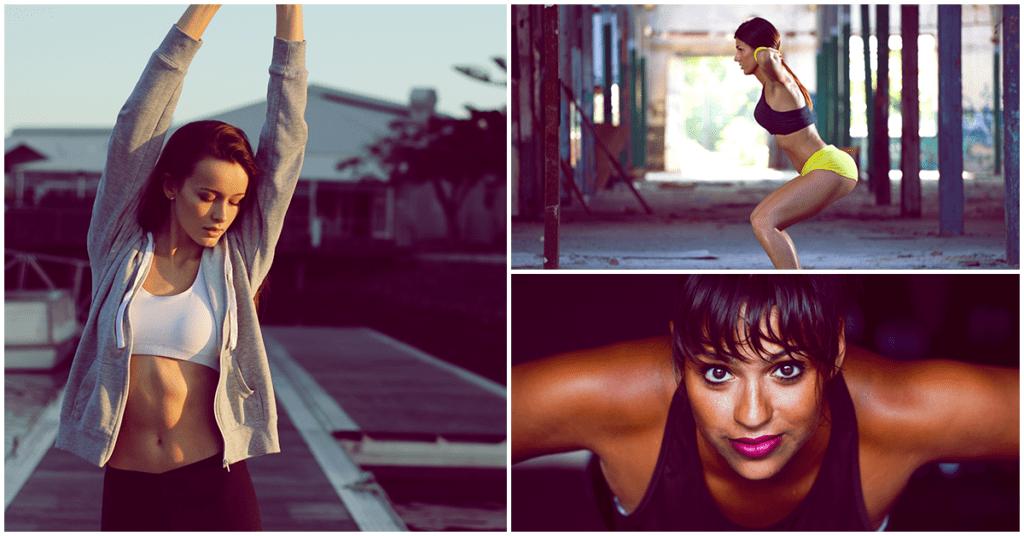 Fáciles ejercicios para mantenerte en forma en donde estés