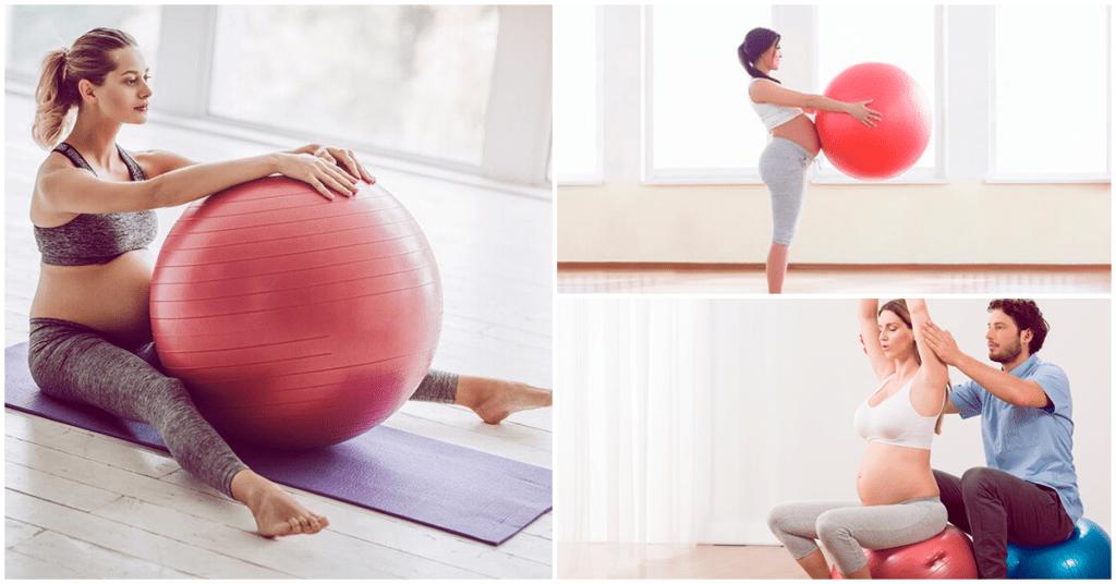 Fitball, el mejor ejercicio para estar en forma si estás embarazada