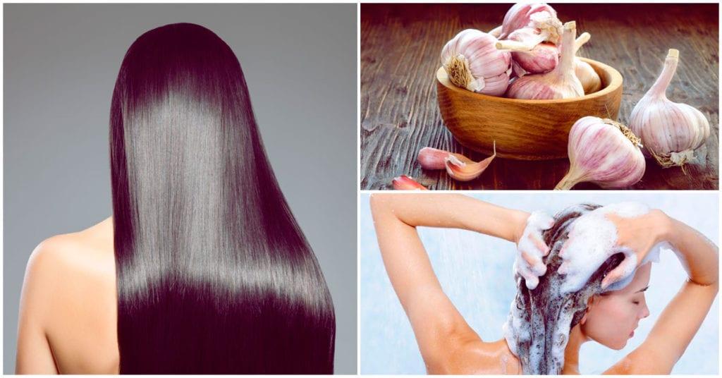 Evita la caída del cabello con este shampoo de ajo